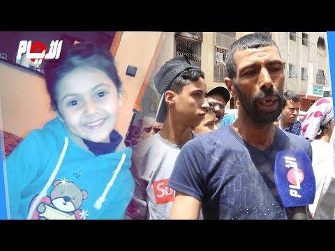 حصري..بعد تدخله البطولي الرجل الذي أنقذ أخت ضحية حريق سيدي علال البحراوي