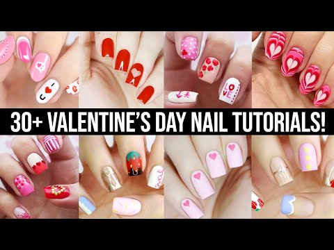 Cute Nail Art 2020 | Fun & Easy Valentine's Day Nail Design Compilation!