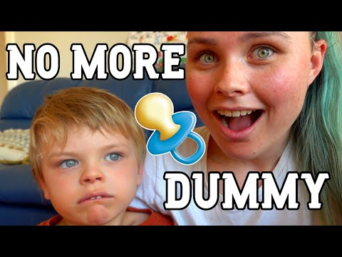Removing His Dummy/ Pacifier *BIG NEWS*   Aussie Autism Family