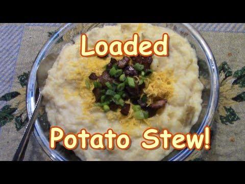 Loaded Potato Stew! Soup Week!