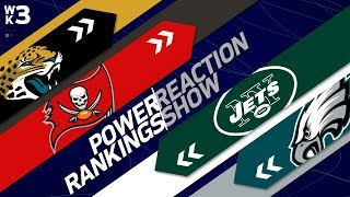NFL Power Rankings Reaction Show: One Team Moves Up 12 Spots! | Week 3 | NFL Network