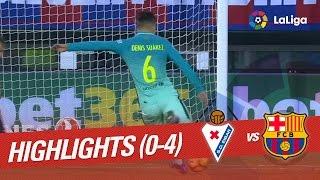 Resumen de SD Eibar vs FC Barcelona (0-4)