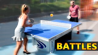 Ping Pong Battles against Strangers 2