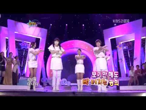 Heechul & Kwanghee dancing SNSD Hoot