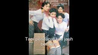 Sendiri - Feminin (with lyric)