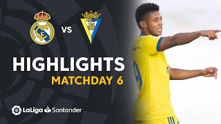 Highlights Real Madrid vs Cádiz CF (0-1)