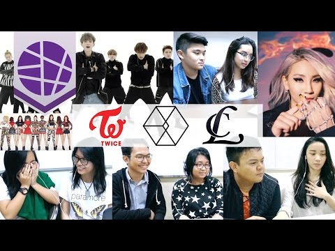 Filipinos React to Kpop #2 (TWICE, EXO, CL) | EL's Planet