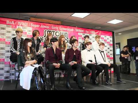 SMTOWN World Tour - EXO, SHINEE, f(x) Interview