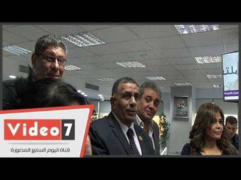 قيادات حب الوطن يناقشون أهداف الائتلاف بمقر اليوم السابع