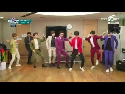 Super Junior 슈퍼주니어 - Devil @ M! Countdown [1080p] [60fps]