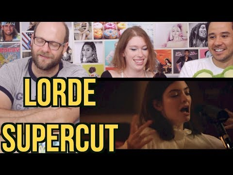 LORDE - Supercut - Lorde x Vevo - REACTION!!