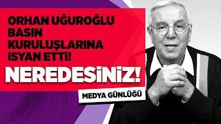 ORHAN UĞUROĞLU, UĞRADIĞI SALDIRIYI ANLATIYOR! #OrhanUğuroğlu #MedyaGünlüğü