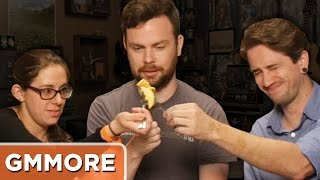 Weird Pancake Taste Test: The Mythical Crew