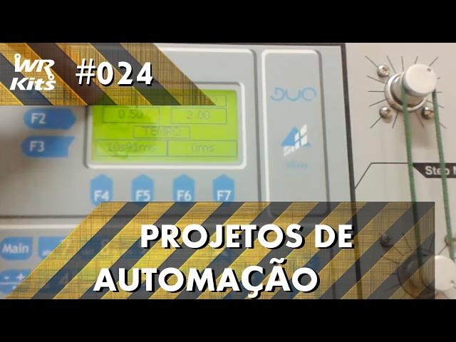 CONTROLE DE ELEVADOR COM CLP ALTUS DUO | Projetos de Automação #024