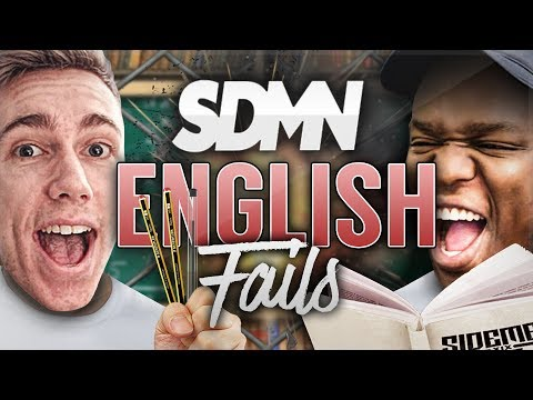 THE SIDEMEN CAN'T SPEAK OR READ!?