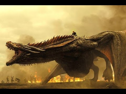 DAENERYS AND DRAGONS- ALL SCENES - SEASON 1-7