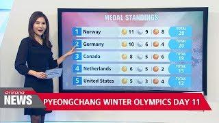 PyeongChang Winter Olympics Day 11