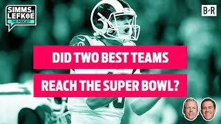 Rams vs. Patriots: Did NFL's Two BEST TEAMS Reach the Super Bowl? 🏆 | Championship Sunday Recap