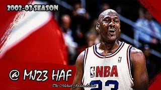 Michael Jordan's Last All-Star Game Highlights (2003 ASG) - 20pts (HD 720p 60fps)