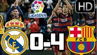 Real Madrid 0-4 Barcelona| RESUMEN Y GOLES ...