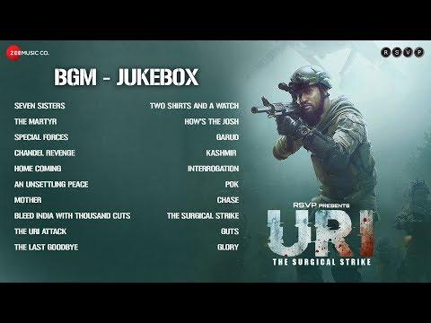URI - The Surgical Strike   BGM Jukebox   Shashwat Sachdev   Vicky Kaushal & Yami Gautam