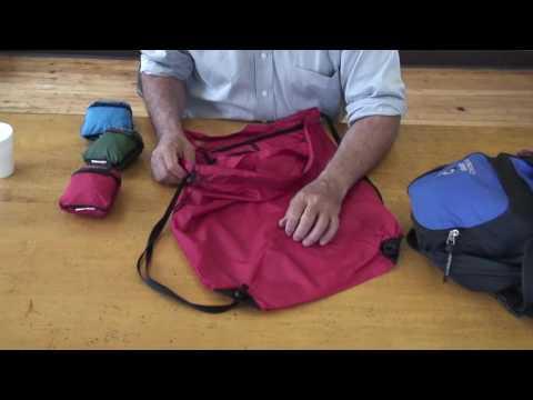 Aerostich Lightweight Portable Bag (6min 25sec)