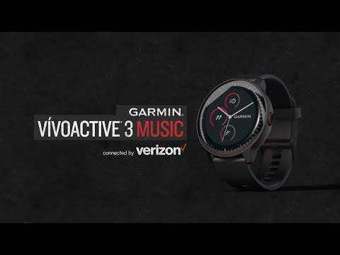 Garmin vívoactive 3 Music — connected by Verizon