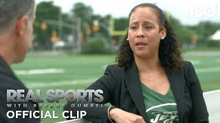 NFL Cheerleaders: Empowerment or Eye Candy?   Real Sports w/ Bryant Gumbel   HBO