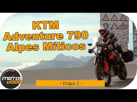 Ruta Alpes Míticos con la KTM Adventure 790 | Etapa 2 | Motosx1000