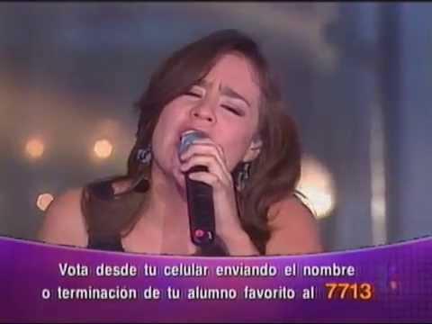 Dulce - Si tú eres mi hombre (La Academia 3 Semifinal)