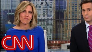 CNN anchor brought to tears over Trump remark