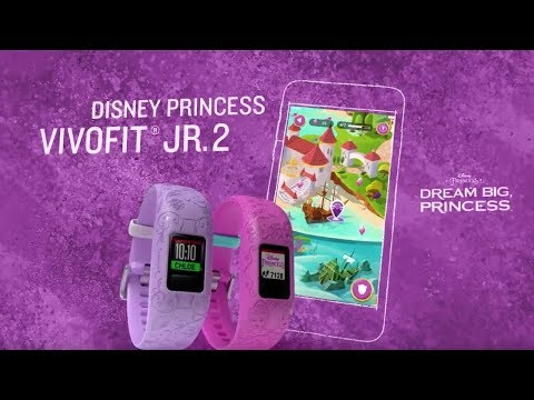 vívofit® jr. 2 Disney-Prinzessinnen Action Watch für Kinder - TV Spot 20 Sek