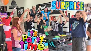 MOST FUN BIRTHDAY PARTY I'VE EVER HAD! YOU WONT BELIEVE WHO CAME!
