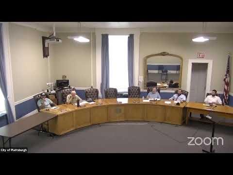 Plattsburgh City Infrastructure Committee Mtg.  6-7-21