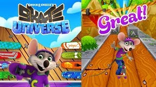 Chuck E Cheese's - Skate Universe | Free Game App for Kids