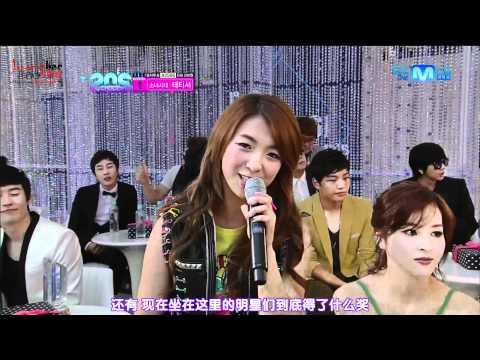 [中字] 120628 f(x) Krystal & Luna & Victoria - MC cut @ Mnet 20's Choice