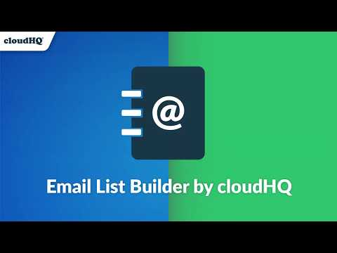 How to Build An Email List in Gmail