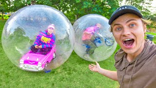 LAST TO LEAVE BUBBLE BALL WINS $10,000
