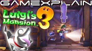 Luigi's Mansion 3 - Demo Playthrough + Finding All Three Hidden Swords (DIRECT FEED Gameplay)