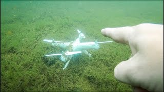 Found Drone Underwater Treasure Hunting the Lake!!!