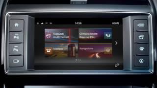 Jaguar XE 16MY | InControl Touch – Navigazione – Immissione di una destinazione
