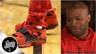 PJ Tucker breaks down NBA sneaker rule change, reveals favorite T-Mac shoe   The Jump