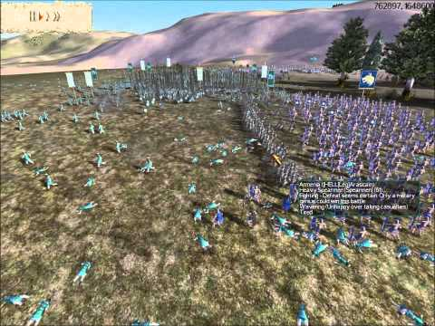 Rome Total War Online Battle #1944: 7 Player Free-For-All
