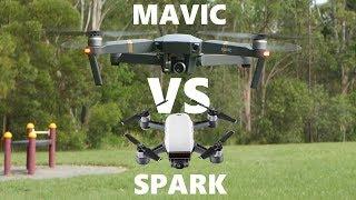 Mavic Pro vs Spark | Full Comparison + Honest Review | DansTube.TV