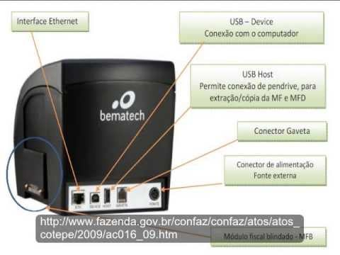 Bematech mp 2100