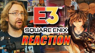 MAX REACTS: E3 Square-Enix Event - Monster Hunter X FFXIV, KH3 & More
