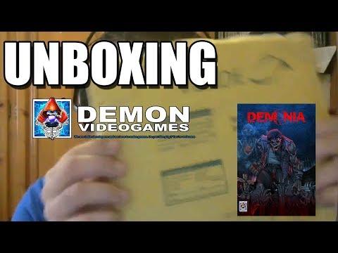 UNBOXING DEMONIA: DEMON VIDEOGAMES