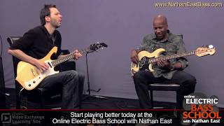 """Nathan East & Paul Gilbert: """"One Chord Challenge"""" at ArtistWorks"""