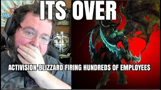 Activsion Blizzard Firing HUNDREDS this week. What's it mean for Blizzard?