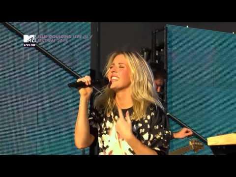 Ellie Goulding Live @ V Festival 2015
